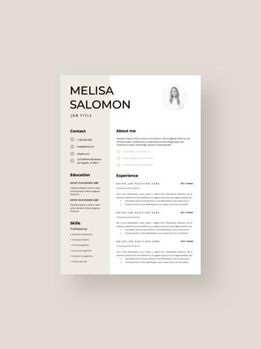 Profesjonalne szablon CV