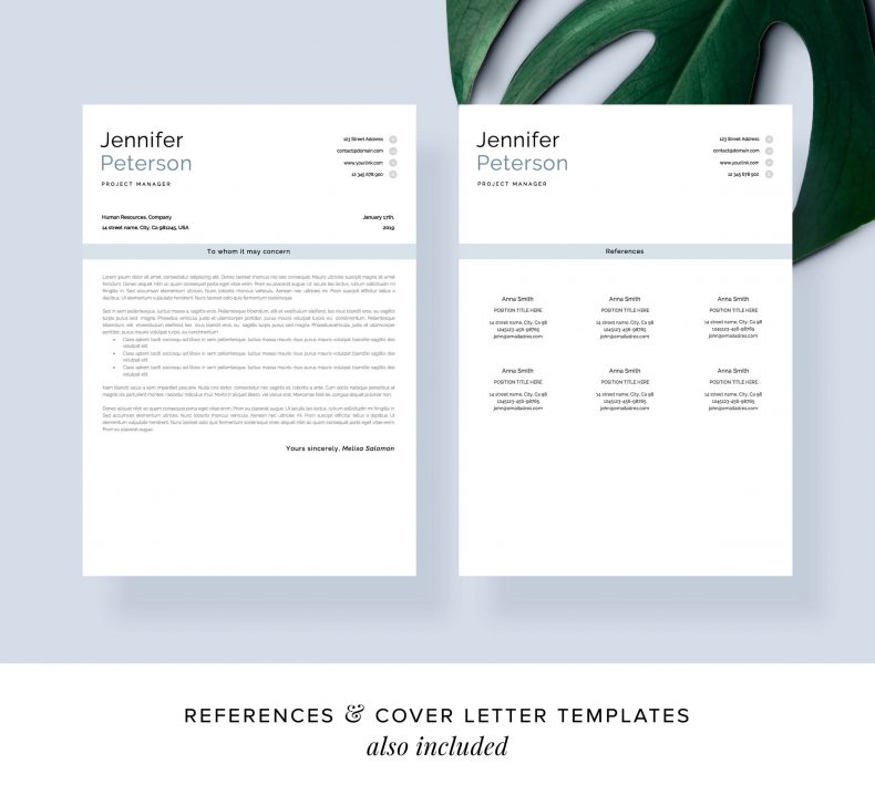 Cv templates modern Vienna letter motivation