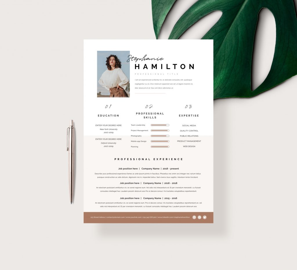 Architecture CV Template Word