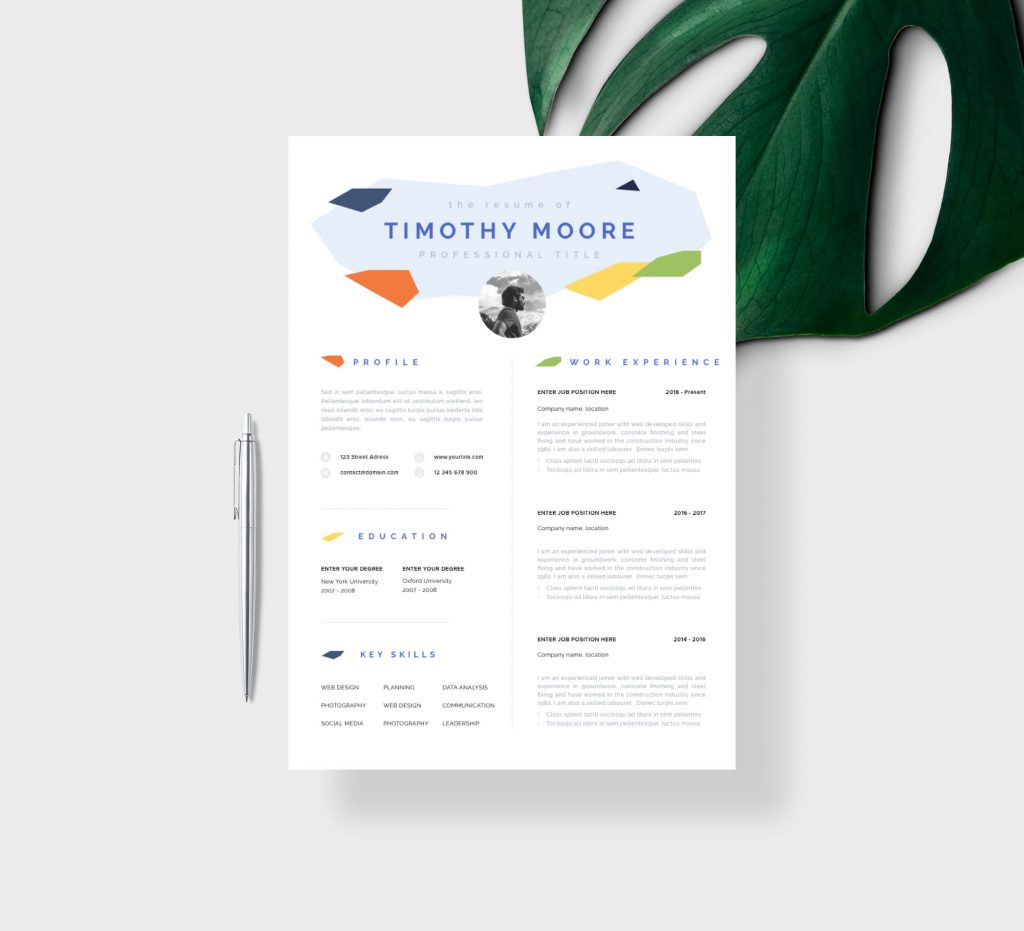 Resume Template For Architects