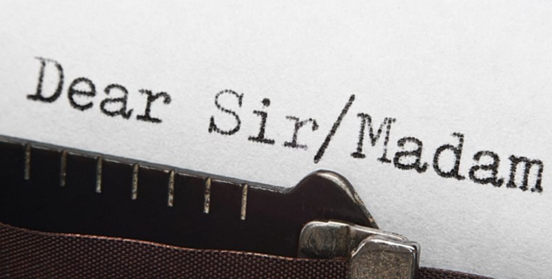 ways to address a cover letter